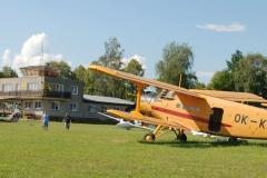 Strunkovice - letiště